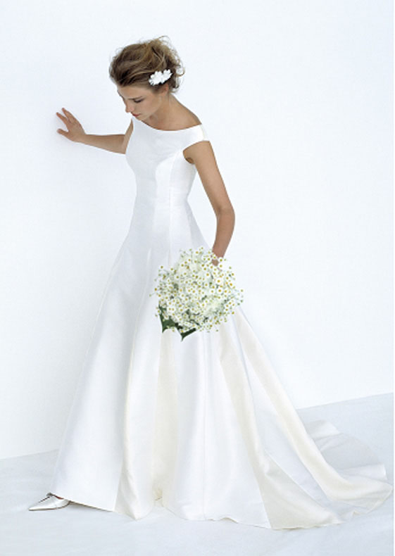 Wedding clothes collections: wedding dresses, suits for bridegrooms