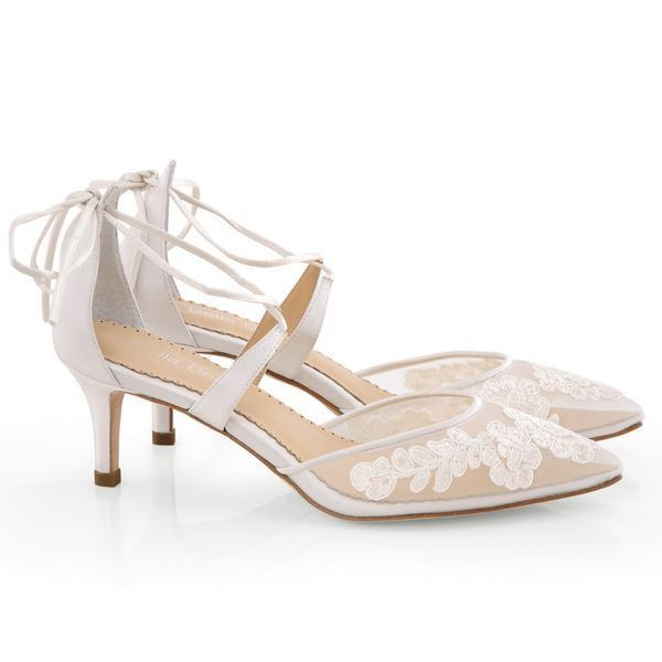 Wedding Shoes A Dream In White For The Bride Choosmeinstyle