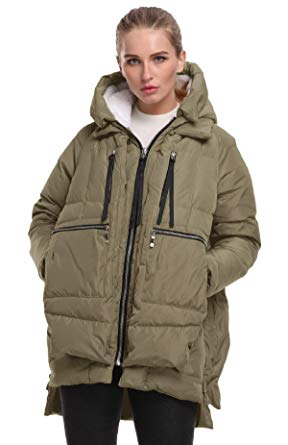 Amazon.com: FADSHOW Women's Winter Down Jackets Long Down Coats Warm