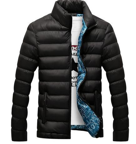 Fashion Men'S Winter Jacket 2018 Men'S Cotton Blend Jackets Mens