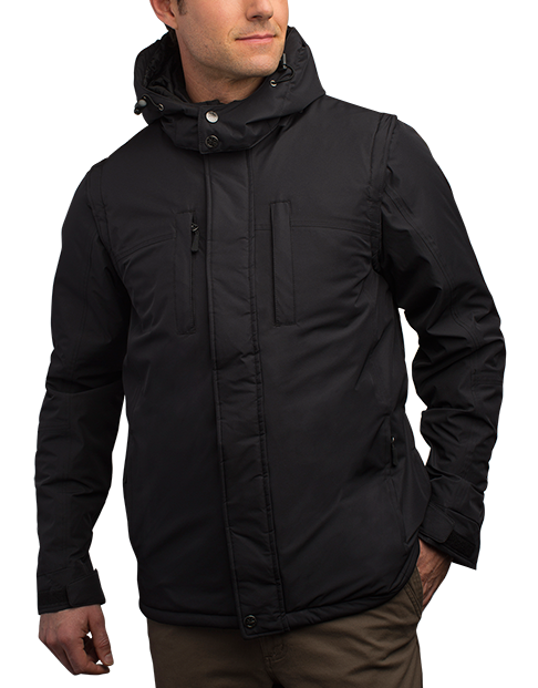Men's Insulated Winter Coat - SCOTTeVEST