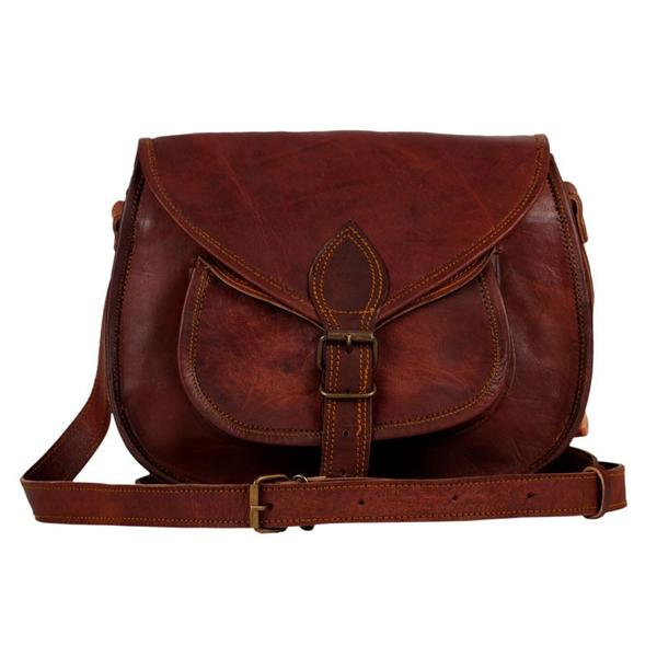 Pure Leather Cross body Purse 13