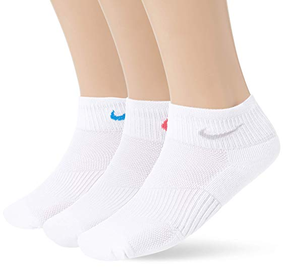 Amazon.com: Nike Performance Cotton Cushioned Quarter Socks (3 Pairs