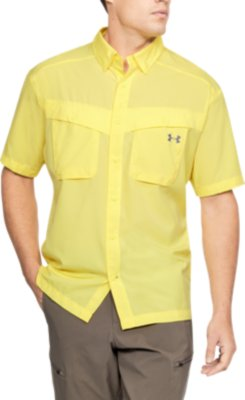 Men's Yellow Tops | Under Armour US