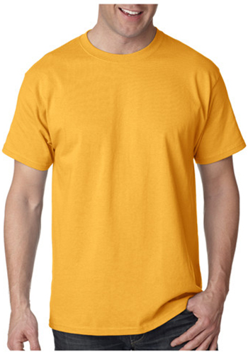 Printed Hanes Tagless T-shirts | 5250 - DiscountMugs